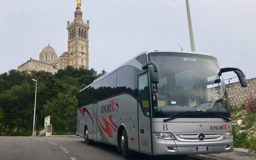 Da Barcellona a Marsiglia in pullman: tour internazionale – parte 1