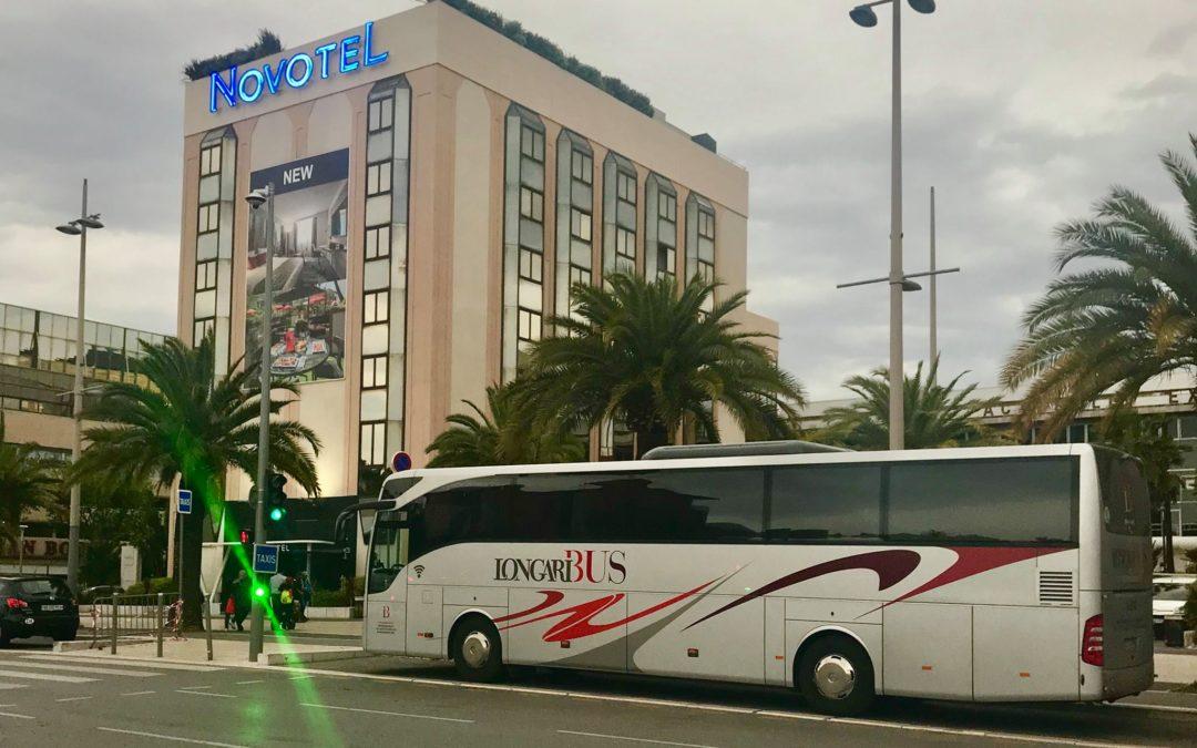 In autobus da Cannes al Lago di Como: tour internazionale – parte 2