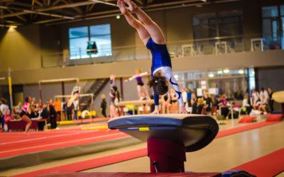 Al Campionato FISAC di ginnastica acrobatica in bus